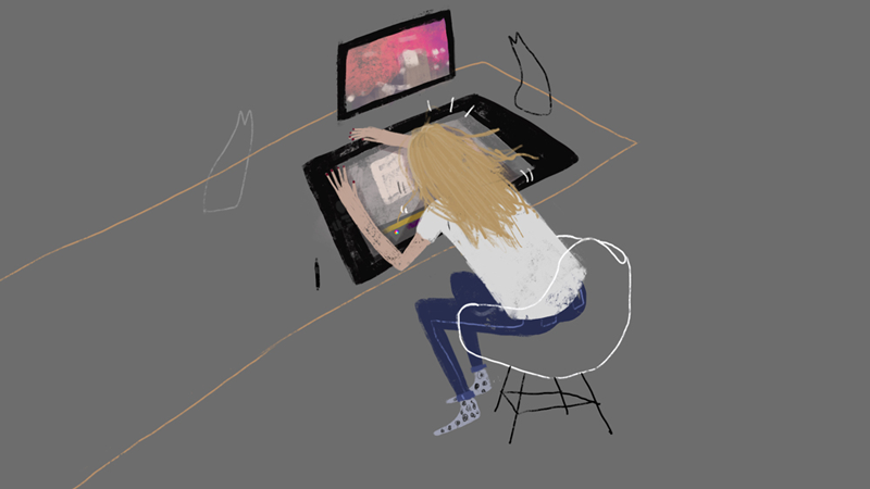 Personal moments - Illustration by Jocie Juritz