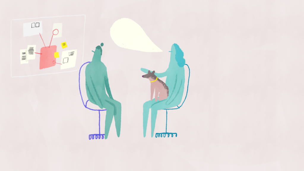 Talk to Spot, A film about Harassment and Discrimination. Animation by Jocie Juritz