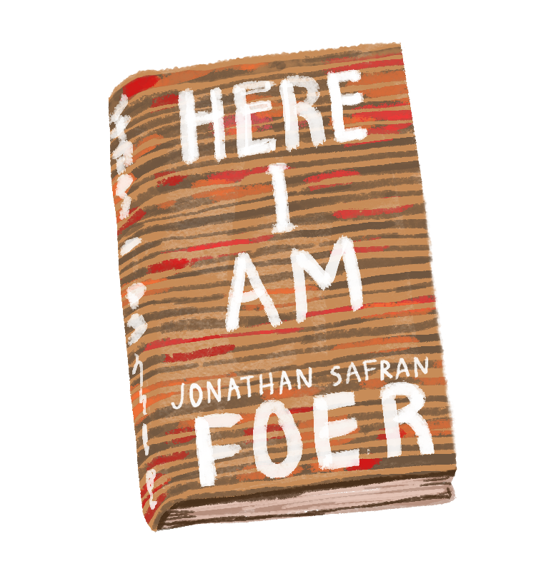 Here I am by Jonathan Safran Foer. Animation by Jocie Juritz